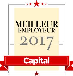 Capital publie le classement exclusif des meilleurs employeurs en 2017