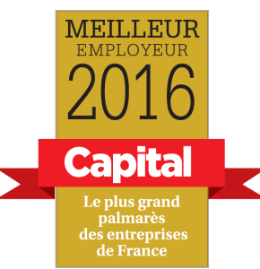 Le Label Capital 'Meilleur employeur 2016'