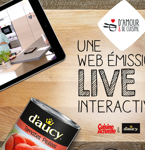 """Brand Content de Bronze au GP Brand Content 2016 """"D'amour et de Cuisine"""""""