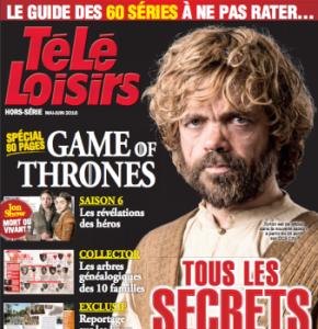 Télé-Loisirs lance un hors-série spécial Game of Thrones