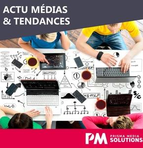 """Newsletter """"Actu Médias et Tendances"""" novembre 2017"""