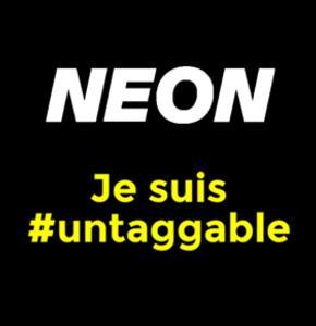 Je suis #untaggable avec Audi et NEON