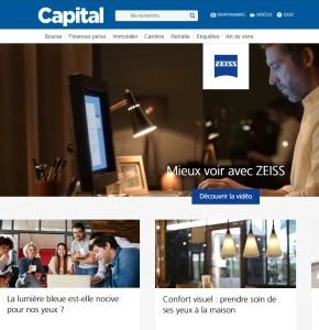 Zeiss et Capital.fr protègent vos yeux du numérique