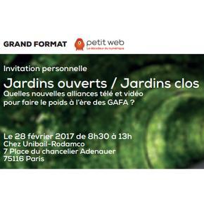 """Prisma Media Solutions intervient à la conférence du Petit Web : """"Jardins clos vs Jardins ouverts"""" le 28 février"""