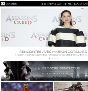 Gentside confirme son expertise sur-mesure avec sa dernière OPS Assassin's Creed…