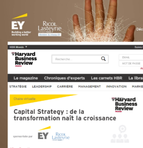 Ernst&Young et RLCF s'associent à Harvard Business Review