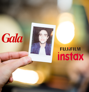 INEDIT, Fuji Instax immortalise les lives de l'appart GALA