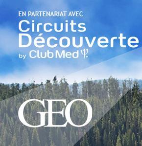 Rêvez avec Geo, Sautez le pas avec les Voyages Découverte Club Med !