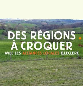 DES REGIONS A CROQUER avec Les Alliances Locales E.Leclerc et Femme Actuelle