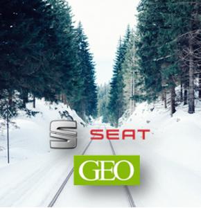 Une échappée givrée en Laponie avec Seat et Geo