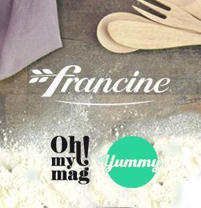 Ohmymag accompagne le lancement de produit Francine