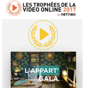 La stratégie vidéo et sociale de Gala récompensée