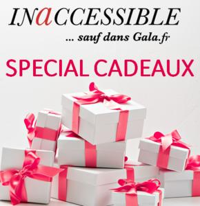 Devenez partenaire exclusif du temps fort Spécial Cadeaux sur Gala.fr