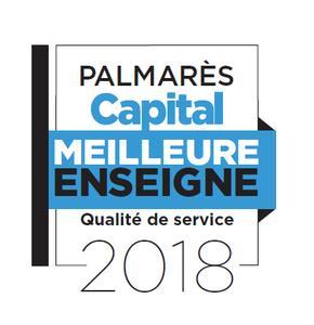 Classement des meilleures enseignes de France en 2018 par Capital