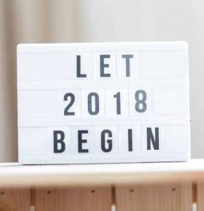 Toutes les nouveautés de 2018 !