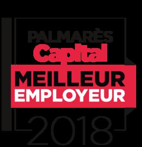Capital publie le classement exclusif des meilleurs employeurs en 2018