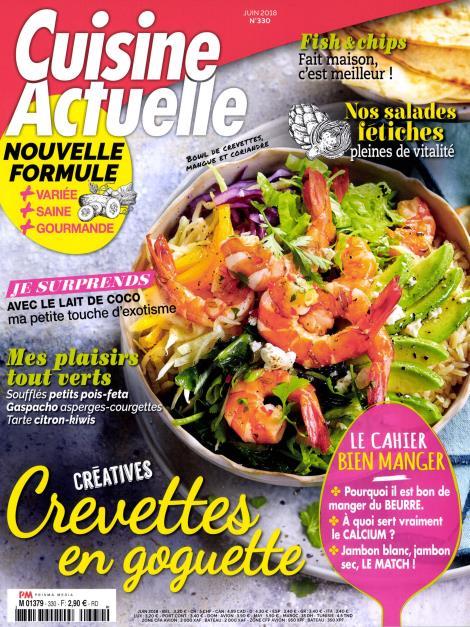 magazine de cuisine mensuel