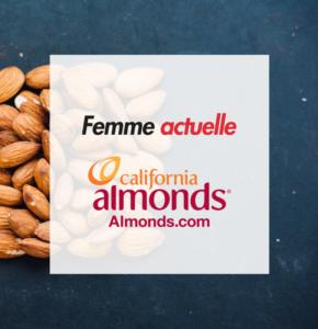 California Almonds et Femme Actuelle, partenaires des femmes au quotidien