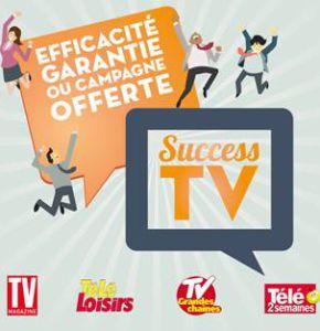 Lancement de l'offre SUCCESS TV