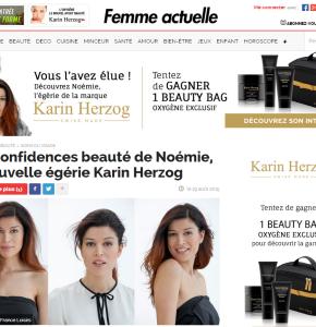 La nouvelle égérie de Karin Herzog élue par les lectrices de Femme actuelle