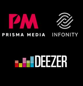 Prisma Media, 1er groupe print-digital présent sur Deezer
