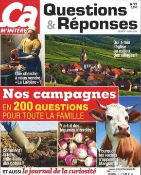 Cover Ça M'intéresse Questions et Réponses