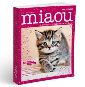 Miaou, nouveau mook feel good pour les amoureux des chats !