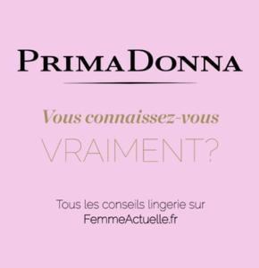 PrimaDonna et Femme Actuelle subliment les courbes des Femmes !