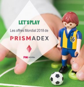 Mondial 2018 : Let's Play avec PrismAdex