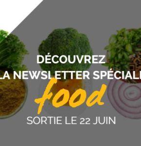 Découvrez la Newsletter Food !