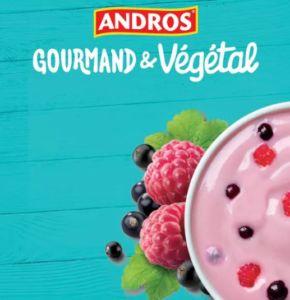 Andros «Gourmand & Végétal» et son agence Change ont choisi une alternative à la télévision avec l'alliance Food Brand Trust