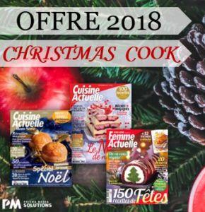 Christmas Cook 2018, l'offre «Cuisine» de Noël