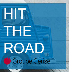 Le Groupe Cerise lance son offre event HIT THE ROAD