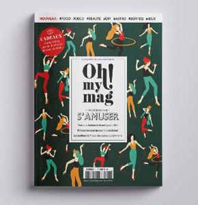 Le 1er numéro d'Ohmymag version Mook est en kiosque