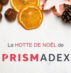 La hotte de Noël de PRISMADEX