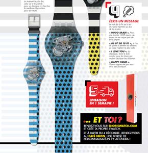 « Toi aussi, Impose ton style » avec NEON & Swatch !