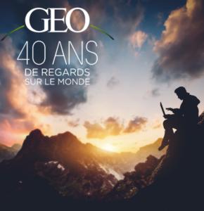 Pour ses 40 ans, GEO s'offre un record