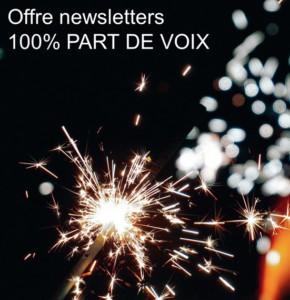 Une offre 100% part de voix pour les newsletters Prisma Media