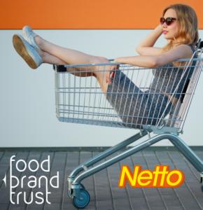 NETTO, 1ère enseigne de distribution à utiliser FOOD BRAND TRUST