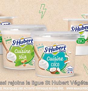 Food Brand Trust : Les super-pouvoirs du végétal avec St Hubert !