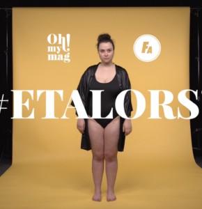 #ETALORS? Ohmymag et Femme Actuelle s'engagent en faveur du body positive