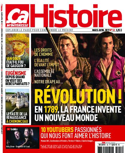 Cover Ça M'Intéresse Histoire
